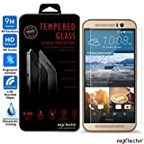 Nextechn M9 Premium Real Tempered Glass Screen Protector Film Guard for HTC One M9