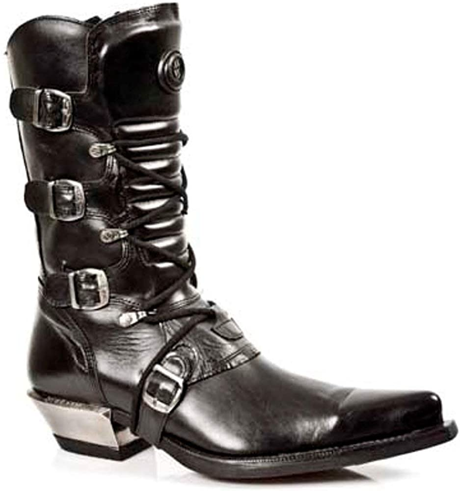 New Rock Boots Style 7993 S1 Black