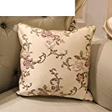 More colors European-style pillow PP cotton back cushion pillowcase for sofa and bed -H 30x45cm(12x18inch)VersionB