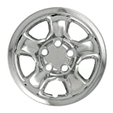 "Bully Imposter IMP-45X, Dodge, 17"" Chrome Replica Wheel Cover, (Set of 4)"