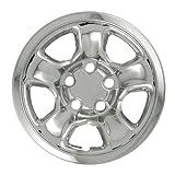 "Bully Imposter IMP-45X, Dodge, 17"" Chrome Replica Wheel Cover, (Set of 4)"