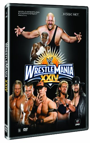 WWE WrestleMania 24 (Wwe Tin Dvd)