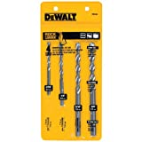DEWALT DW5204 Premium Percussion Masonry Drill Bit Set, 4-Piece