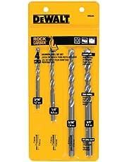 DEWALT DW5204 Premium Percussion Masonry Drill Bit Set, 4-Piece