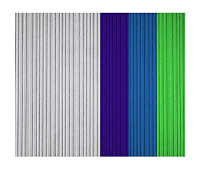 York Wallcoverings Patent Decor PT9412 Varied Stripe Paintable Wallpaper, White