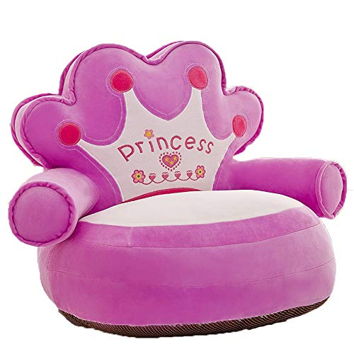 Princess Children Soft Plush Chair Toddlers Armchair Seat Nursery Baby Sofa