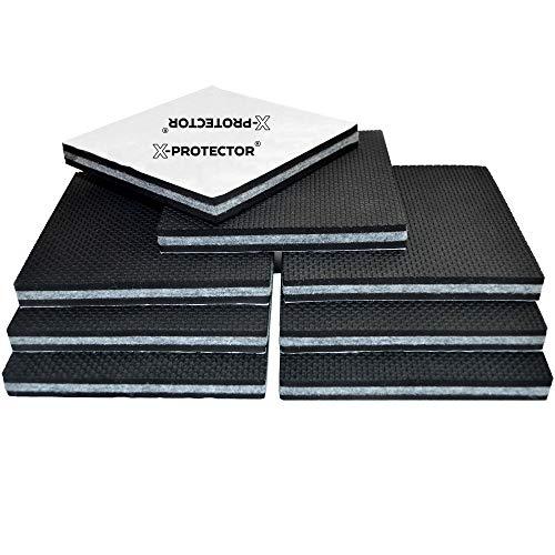 """Cheap  Non Slip Furniture Pads X-PROTECTOR -Premium 8 pcs 4"""" Furniture Pad! Best.."""