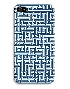 Blue Maze Case for your iPhone 6 Plus 5.5
