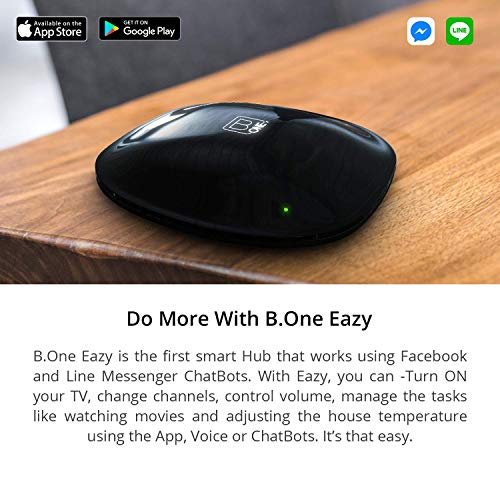 B One Eazy Universal Remote for Control of Home, Office