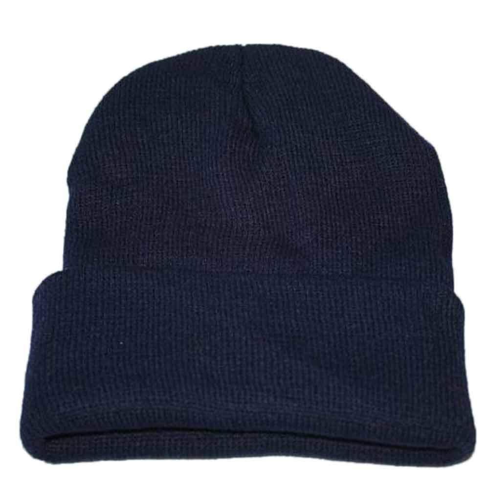 Cinhent Hat 17 Colors Adult Unisex Slouchy Knitting Beanie Hip Hop Cap Warm Ski