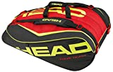 Head 2015 Extreme 12R Monstercombi Tennis Bag (Black/Red/Yellow)