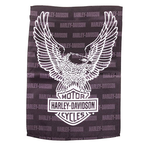 Harley-Davidson Evergreetings Eagle Garden Flag