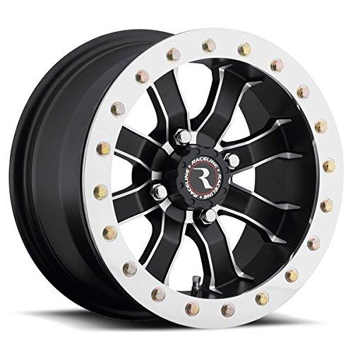 16-18 YAMAHA YXZ1000R: Raceline Mamba Beadlock Wheel (Front / 14X7 / 4X110 6+1)