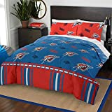 The Northwest Company NBA Oklahoma City Thunder Full Bed in a Bag Complete Bedding Set #892680714