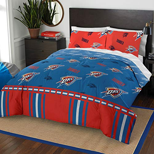 - The Northwest Company NBA Oklahoma City Thunder Full Bed in a Bag Complete Bedding Set #892680714