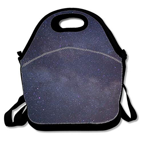 Space Lunch Tote Soft Bag Cooler Box Lunchbox Bag Handbag Case Lunch Tote/Cooler/Lunch Box with Zip