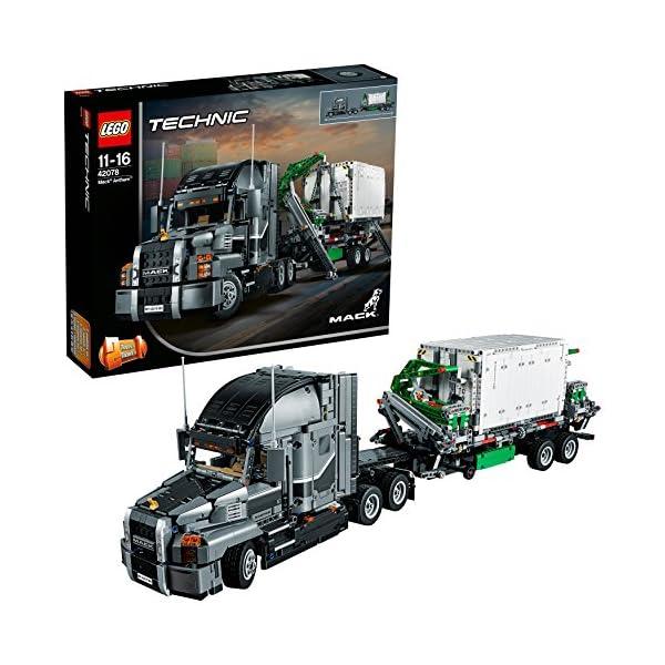 LEGO- Technic Mack Anthem Set di Costruzioni 2 in 1 con Motore a 6 Cilindri in Linea, Ricco di Dettagli Tecnici, per… 1 spesavip