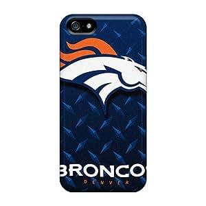 Excellent Design Denver Broncos Phone Case For Iphone 4/4S Cover Premium PC Case