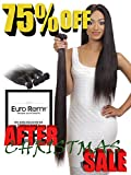(US) EURO REMY EREWVE002ST-S-N20 Brazilian Virgin 100% Unprocessed Human Hair Extensions Weave Straight 20 inches Natural