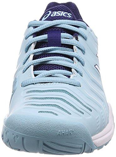 Indigo Blue Gel 11 White Tennisschuhe Asics Blau Challenger Blue 1401 Damen Porcelain Hwqpvz
