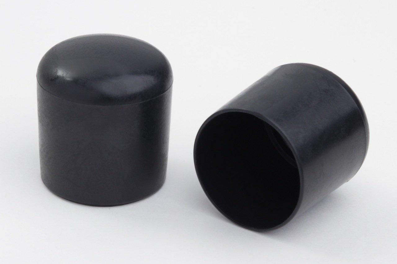 color negro 4 unidades, 25 mm de di/ámetro, pl/ástico Taco protector para patas de silla Young schwinn