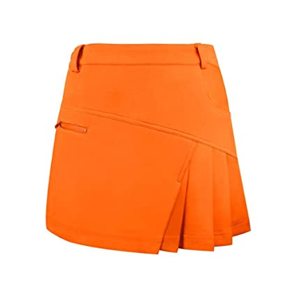 a4a41a936 Depruies Double-Layered Design Tennis Short Skirt Anti-Naked Lining Short  Skirt Women's Golf Divided Skirt: Amazon.ca: Home & Kitchen