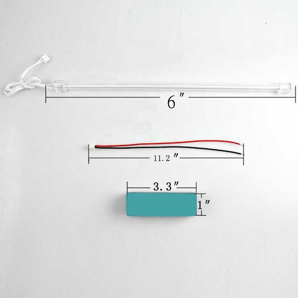 Supmico 15cm Car Blue Undercar Underbody Neon Kit Lights CCFL Cold Cathode Lamp