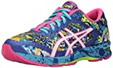 ASICS Women's Gel-Noosa Tri 11 Running Shoe, Blue/White/Hot Pink, 9.5 M US