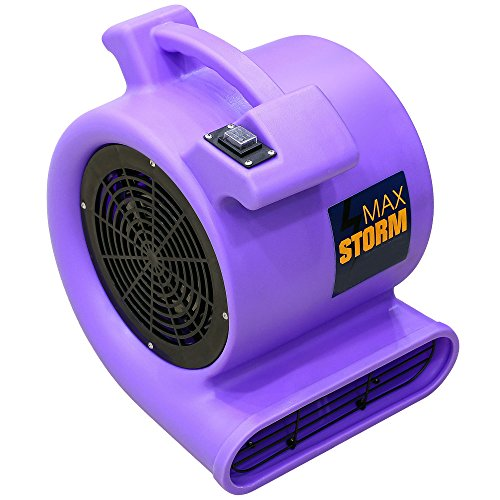 Floor Drying Fans : Max storm hp cfm durable lightweight air mover
