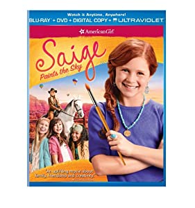 Cover Image for 'An American Girl: Saige Paints the Sky (Blu-ray + DVD + Digital Copy + UltraViolet)'