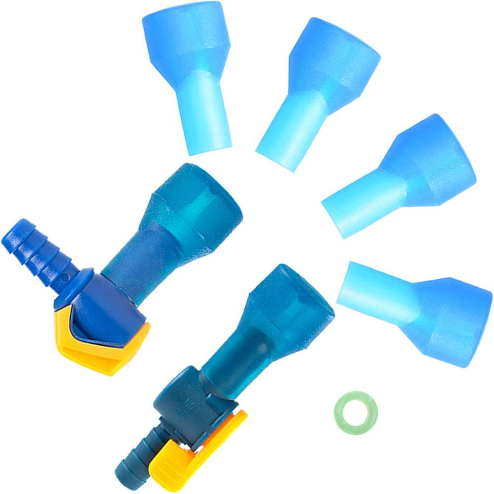 AXEN Bite Valve Replacement Mouthpieces for Hydration Pack Bladder,Fit for Most Brands