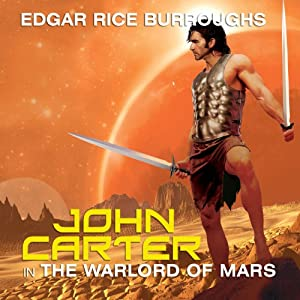 John Carter in The Warlord of Mars Audiobook