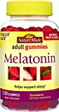 Nature Made Melatonin 2.5 mg. Adult Gummies Value Size 130 Ct