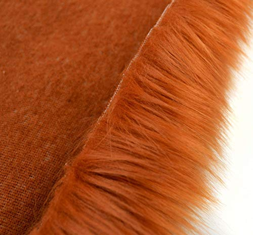 Luxury Faux Fur Shag Fabric Trim - Choose COLOR and WIDTH - Craft Sewing Fursuit Furry Fake Artificial Fur Trim Fabric by the yard - Sample, Swatch