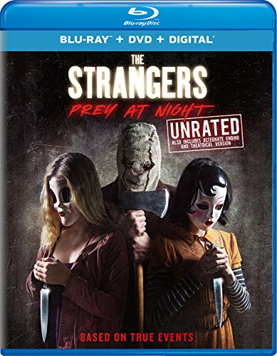 Blu-ray : The Strangers: Prey at Night (With DVD, 2 Pack, Digital Copy, Unrated Version, 2 Disc)