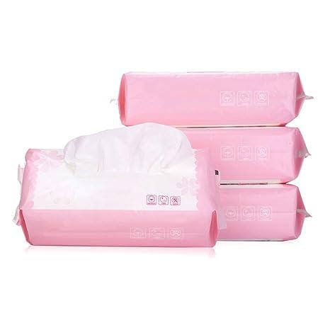 80pcs Toallitas húmedas para el cuidado de la cara Toallitas húmedas diarias Esenciales Diariamente Limpieza facial ...