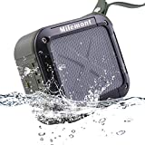 Shower Speaker Bluetooth Waterproof, Wireless Speaker, Portable Outdoor Stereo Wireless Bluetooth Speaker with HD Audio and Enhance Bass, Dual Driver Speakerphone, Handsfree Calling