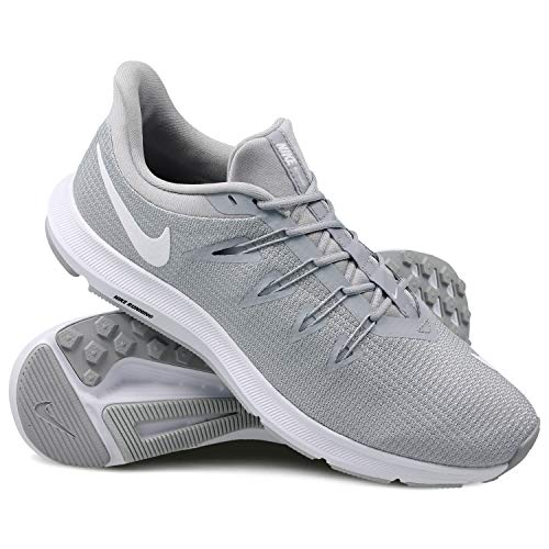 wolf Multicolore Quest Basses Nike pure Homme white 010 Platinum Grey Sneakers wUPqUxX