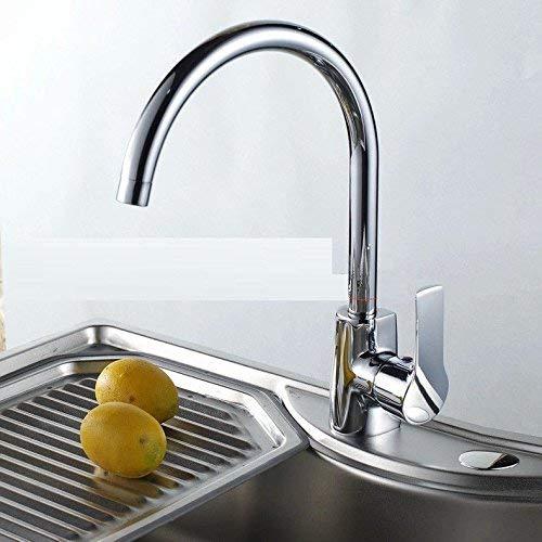 Eeayyygch Küchenarmatur aus massivem Messing kocht Wasserhahn für Heißes und kaltes Wasser (Farbe   -, Größe   -)