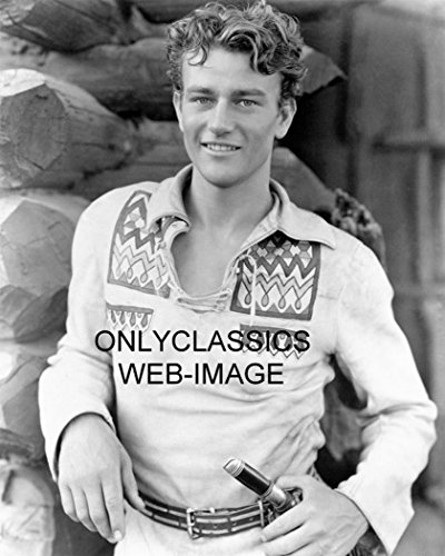 OnlyClassics 1930 PRE Code The Big Trail Early John Wayne 8X10 Photo Young Hollywood Cowboy