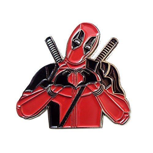 Various Dab Stoner Graffiti Novelty Enamel Pin Hip Hop Weed Culture Hat Trippy Pins - Pin Deadpool