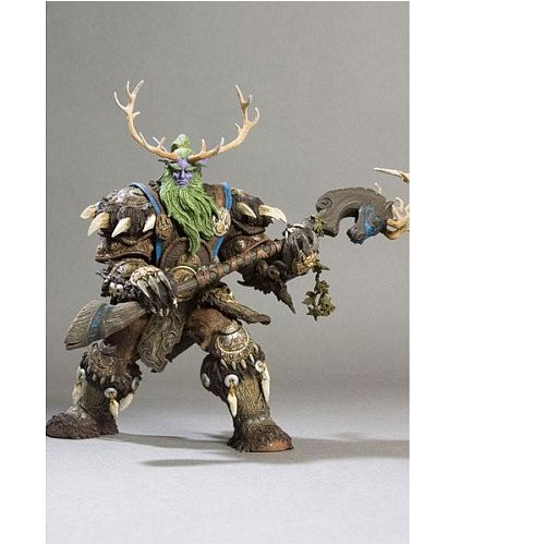 Broll Bearmantle Action Figure DC Unlimited World of Warcraft Series 2 Night Elf Druid