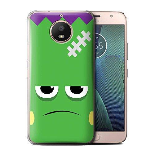 STUFF4 Phone Case/Cover for Motorola Moto E4 Plus 2017 / Frankenstein Design/Halloween Character Collection ()