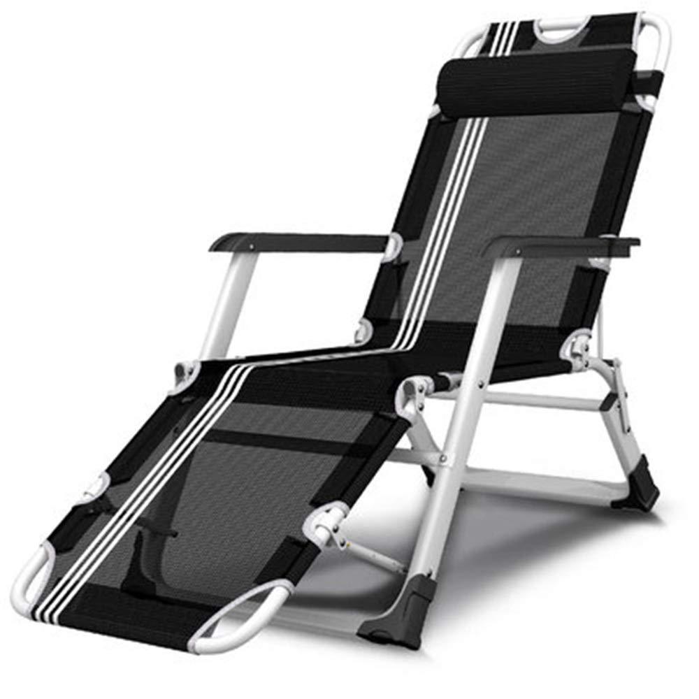 JDGK - ラウンジチェア B07SZB59XQ 8974 大幅にプライスダウン リクライニングチェア折りたたみベッドシングルベッドリクライニングチェア折りたたみ椅子昼休みオフィスシンプルベッドキャンプベッドシエスタベッドポータブル 流行のアイテム
