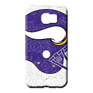 samsung galaxy s6 edge Highquality Specially Protective Stylish Cases mobile phone case minnesota vikings nfl football