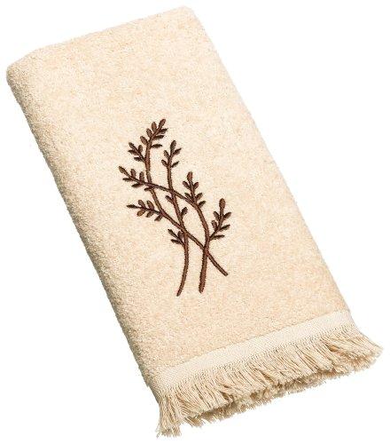 Avanti Linens Laguna Fingertip Towel, Linen