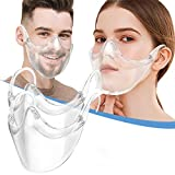 2 Pack Clarity Face_Shield for Adult, Andees