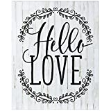 Hello Love Wedding Sign for livingroom entryway kitchen bedroom wall art decor print By Dayspring Milestones