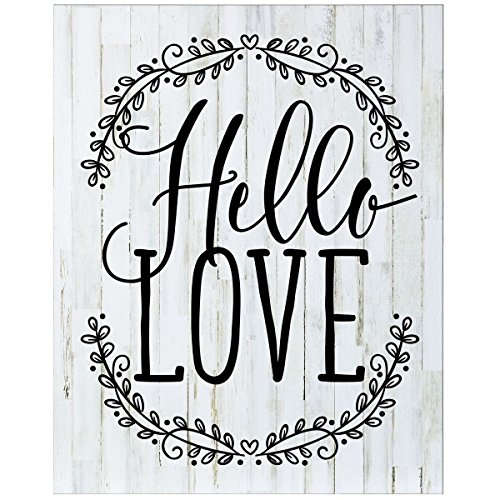 Hello Love Wedding Sign for livingroom entryway kitchen bedroom wall art decor print By Dayspring Milestones by Dayspring