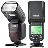 K&F Concept KF-885 TTL Speedlite Universal Flash with 1/8000s HSS Wireless Master/Slave Function for Canon Nikon DSLR Camera